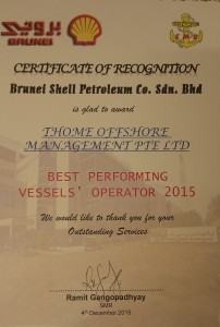 BSP Certificate of Recognition TOM2