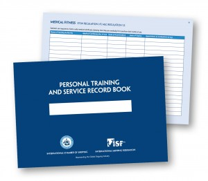 Personal Training and Service Record Book (Image)
